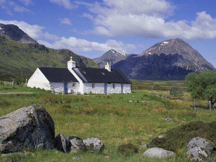Black Rock Cottage, Glencoe Scotland