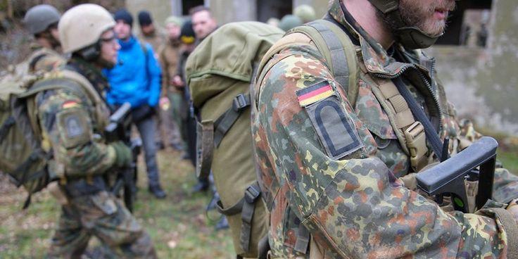 Der MAD hat Bedenken, dass die Bundeswehr als Ausbildungscamp für Islamisten…