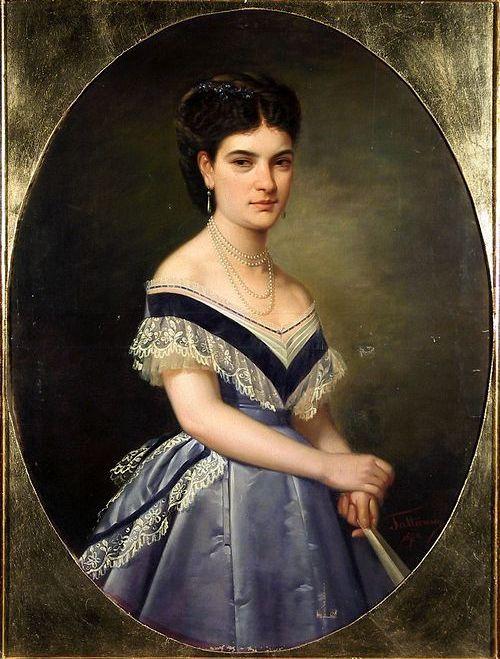 Description Gheorghe Tattarescu - Portret de femeie.jpg