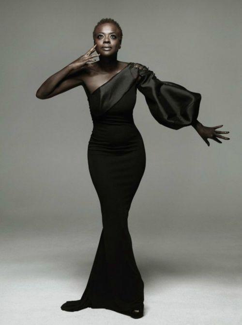 Viola Davis #naturalhair  We black women are indeed walking pieces of art!