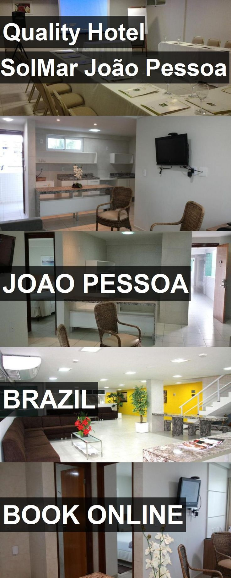 Quality Hotel SolMar João Pessoa in Joao Pessoa, Brazil. For more information, photos, reviews and best prices please follow the link. #Brazil #JoaoPessoa #travel #vacation #hotel