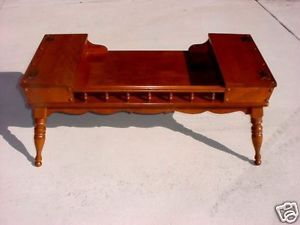Ethan Allen Heirloom Cocktail Table Colonial Early American Furniture ...