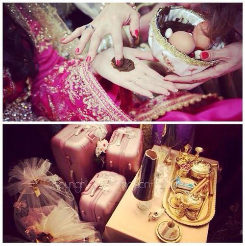 henna - tbak l3rossa - mariage algerien