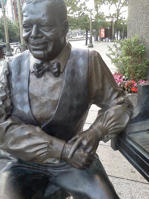 Oscar Petersen's Sculpture by jtemplerobinson, via Flickr Ottawa Canada #Jazz @skychi_travels