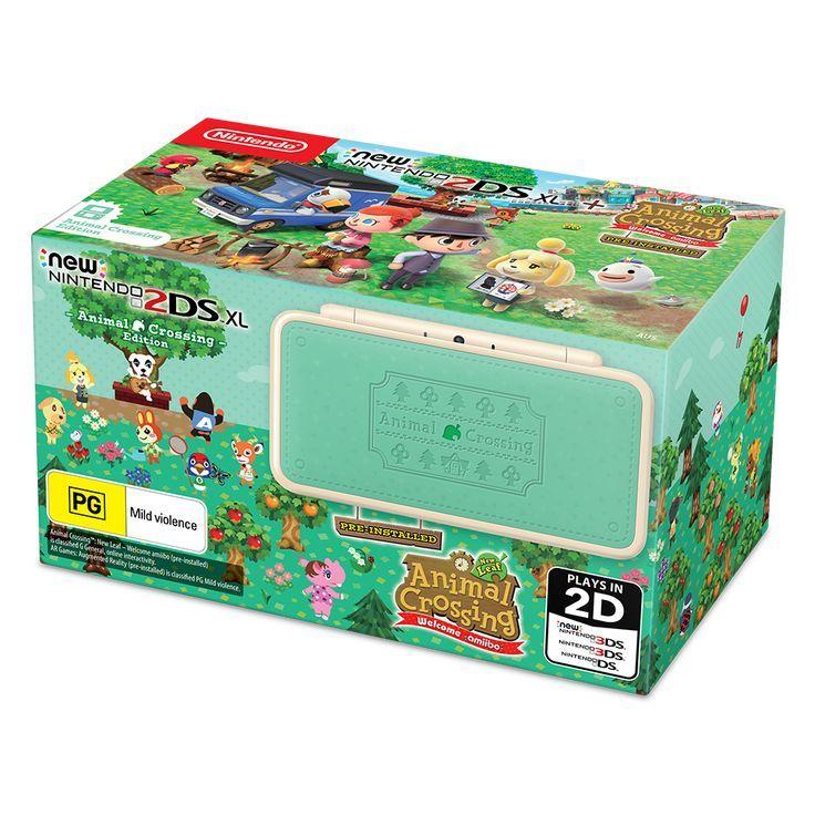 Nintendo New 2ds Xl Animal Crossing Edition Eb Games Australia Nintendo News Animal Crossing Nintendo