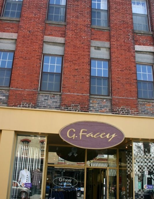 """Doing business in beautiful downtown Port Hope, Ontario for 20 years. Clothing, accessories & more - for Men & Women. """" Canadian-made, is top-shelf alongside a well edited assortment of collections from around the world."""""""