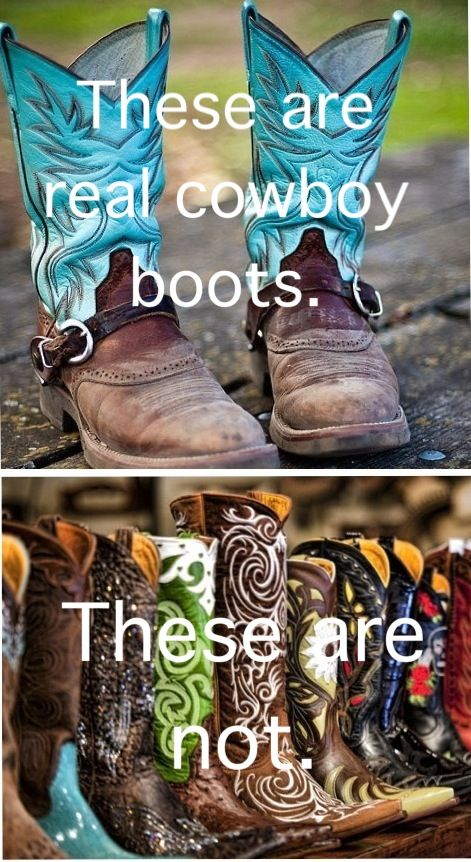 In my opinion, both are real. Is it not okay for some of us country girls to want to dress a little nicer once in a while?