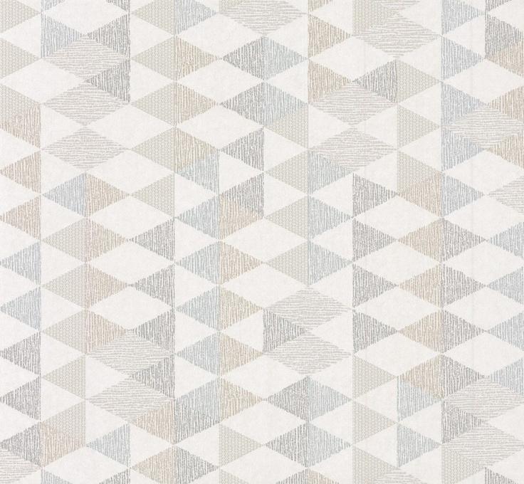 Box - Titanium wallpaper from little Greene