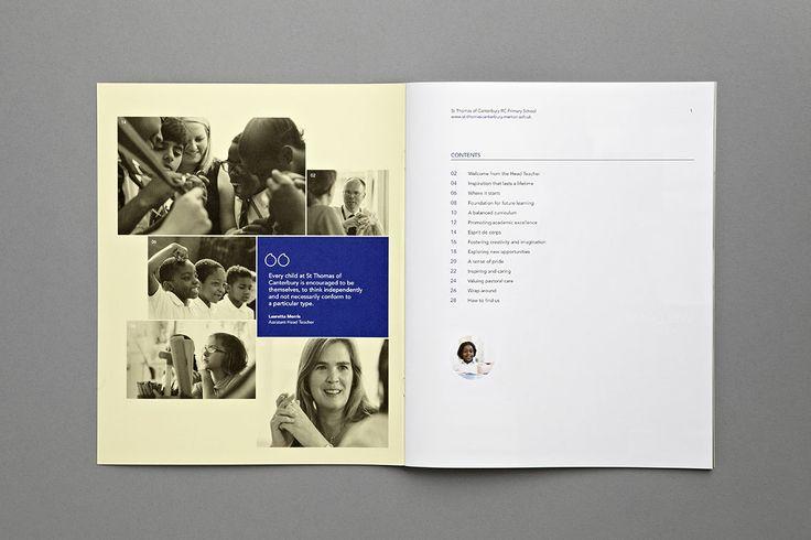 St Thomas of Canterbury School Prospectus - Content - Carr Kamasa Design - London