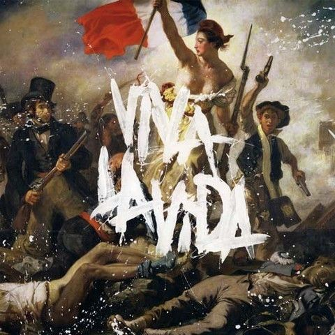 I actually hate this album, but the cover is pretty cool. Coldplay, Viva La Vida.