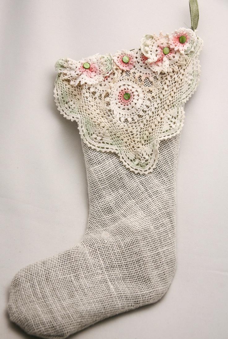 christmas lace stocking transgender