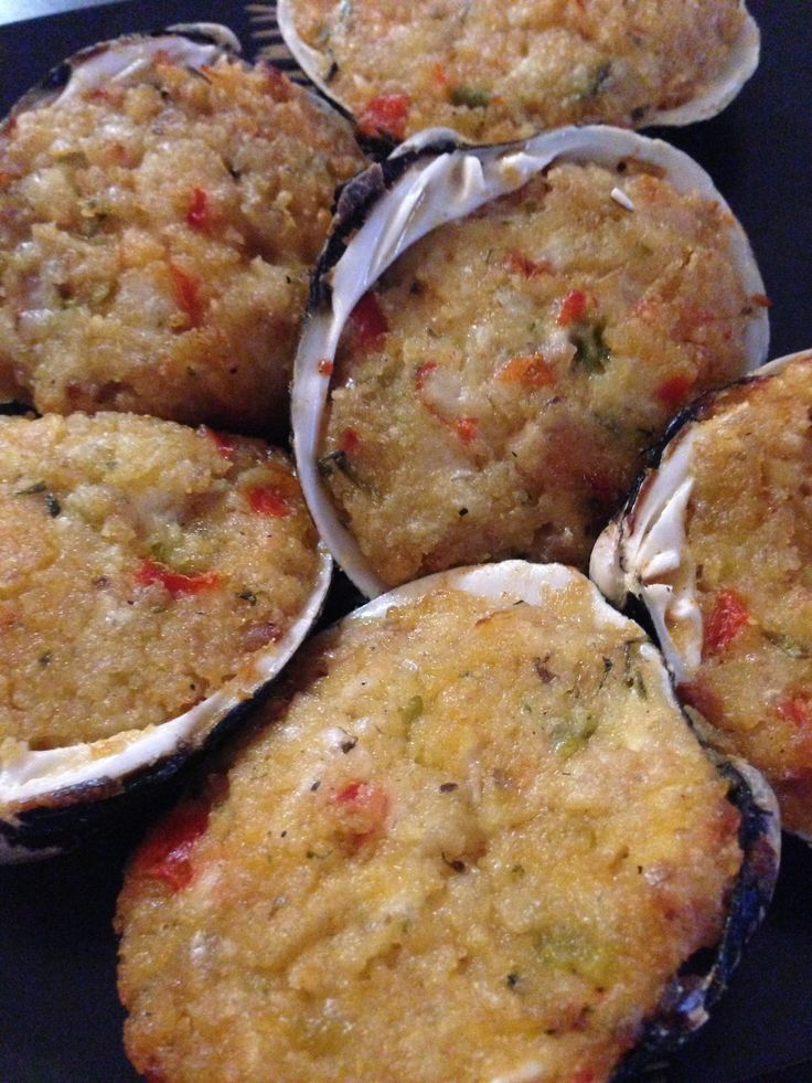 Baked stuffed clams from whole foods | recipes | Pinterest