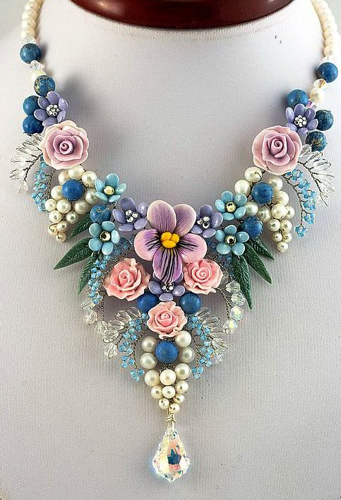 17 best ideas about flower jewelry on pinterest