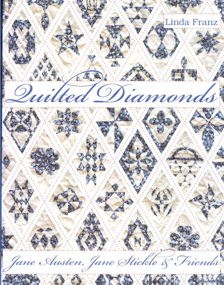 12 Best Quilted Diamonds With Linda Franz Images On