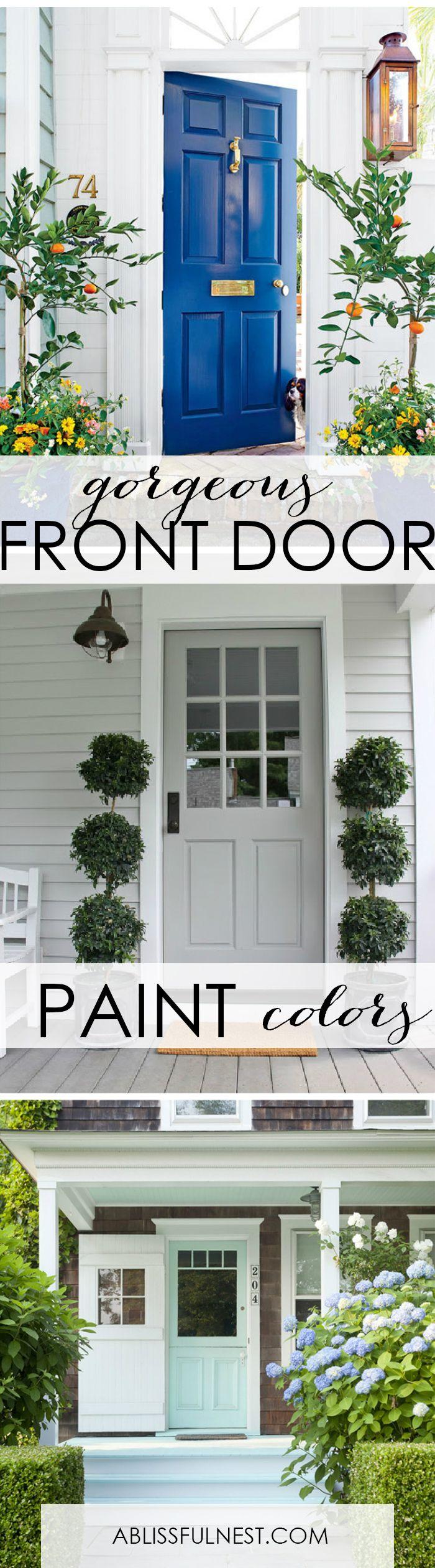 Best Front Door Paint Colors best 25+ front door painting ideas on pinterest | front door paint