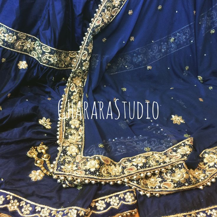 Gharara in Silk with fine zardozi handcrafted embroidery all over.   #Gharara #ghararastudio #ghararastudiobyshazia #ghararadesign #ghararah #ghararafashion #ghararalove #ghararadesign #bridal #bride #wedding #weddingdress #weddings #nikah #fashion #fashionblogger #fashionstylist #fashiongram #fashionblog #blog #indianfashionblogger #indianfashion #indianstylist #indiandress #indiantradition #instafashion #silk #silkgharara #bluegharara