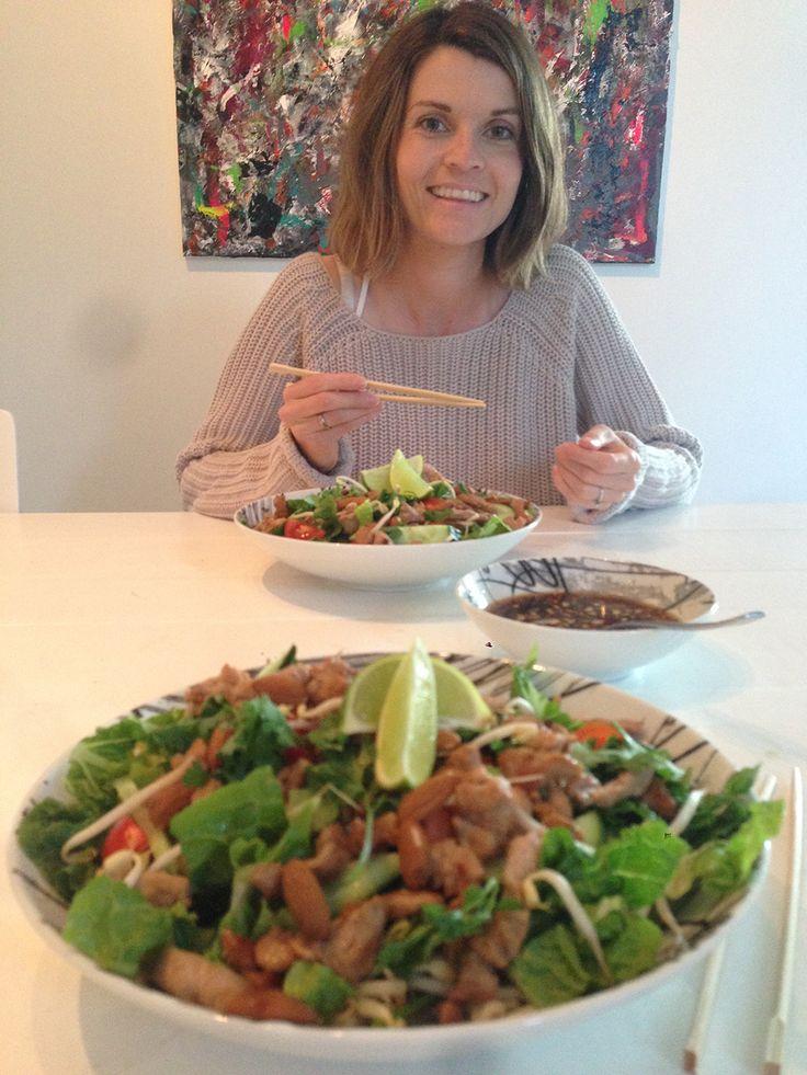 Frisk thaisalat