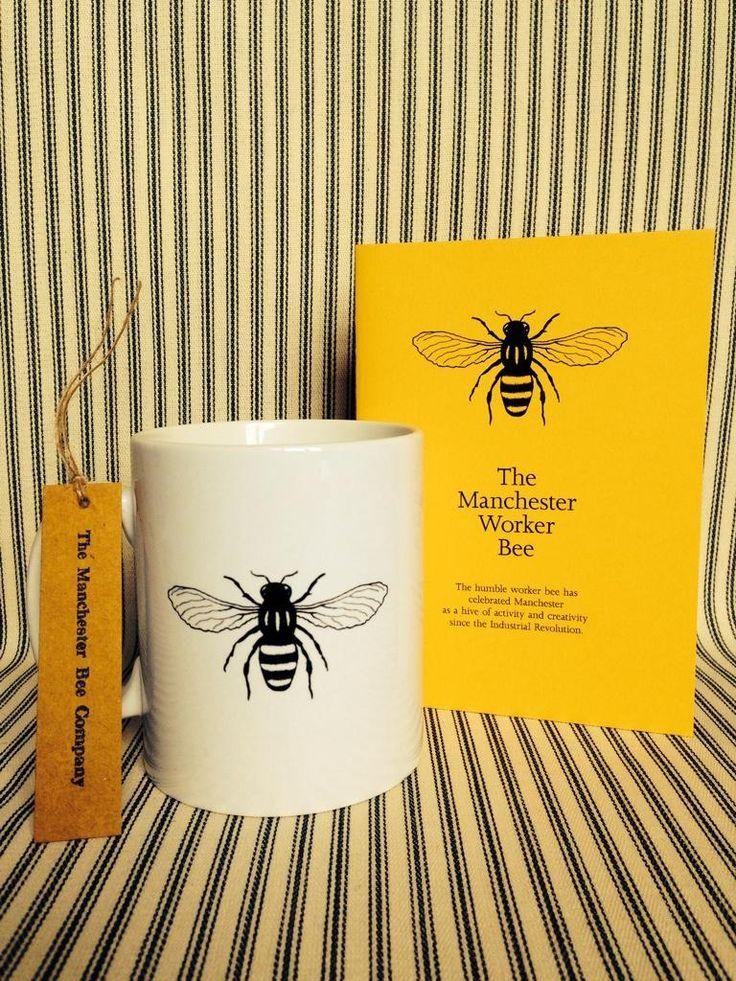 we love this Manchester Worker Bee merchandise!
