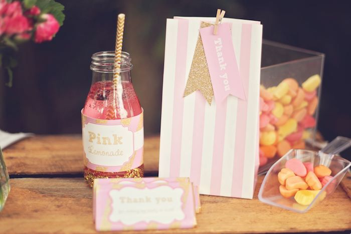 Pink Lemonade themed birthday party