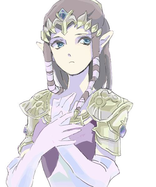A very pretty picture of Princess Zelda of Hyrule. Now to find a Hilda picture...
