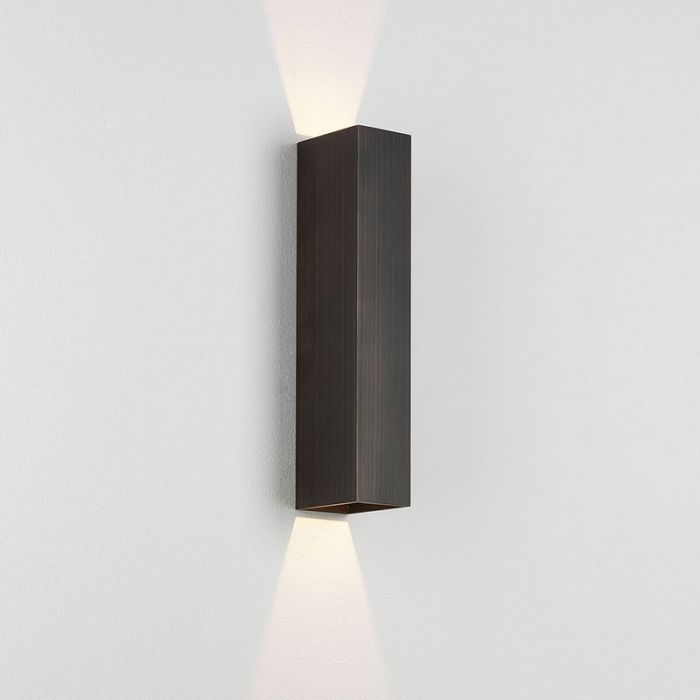 Astro Kinzo Up Down Wall Light Bronze Up Down Wall Light Wall Lights Wall Lighting Design