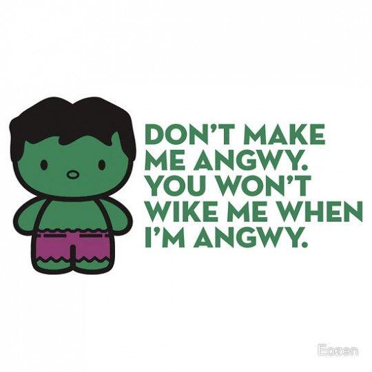 Adorable Hulk