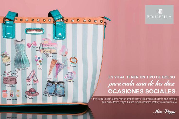 Los bolsos son accesorios que hacen parte de tu personalidad, grandes, pequeños, con mucho color, en diversos materiales. Es importante tener uno para cada ocasión.
