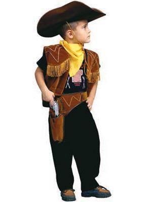 Сшить новогодний костюм ковбоя ребёнку