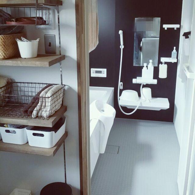 IKEA/無印良品/シンプルインテリア/バス/トイレのインテリア実例 - 2015-09-13 10:46:33 | RoomClip(ルームクリップ)
