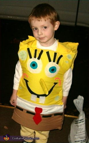 SpongeBob SquarePants Costume - Halloween Costume Contest via @costumeworks