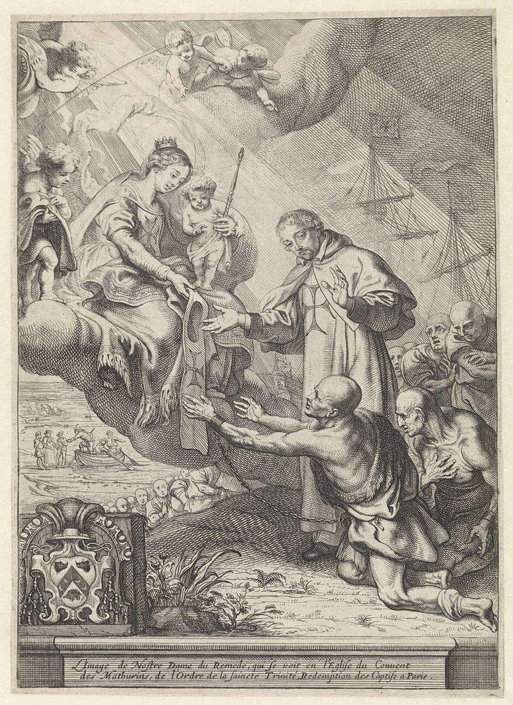 Maria als Onze Lieve Vrouwe ter Hulpe en de verlossing van de gevangenen, Theodoor van Thulden, 1632 - 1633