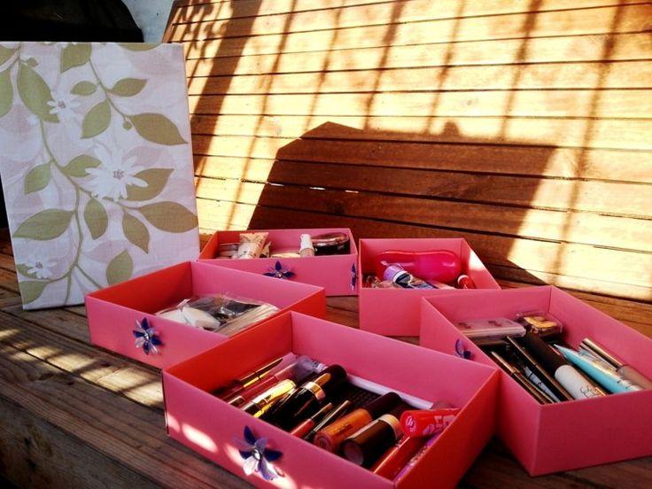 rangement de maquillage coffret pas cher boîte makeup