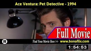 ace ventura pet detective - YouTube