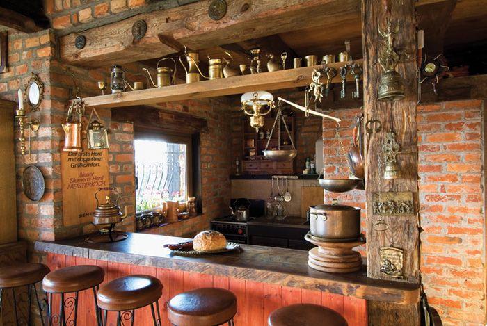 Estilo rustico mas cocinas rusticas cocina r stica for Barras de bar para casa rusticas