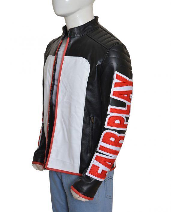 Mister Terrific Fair Play Biker Leather Jacket