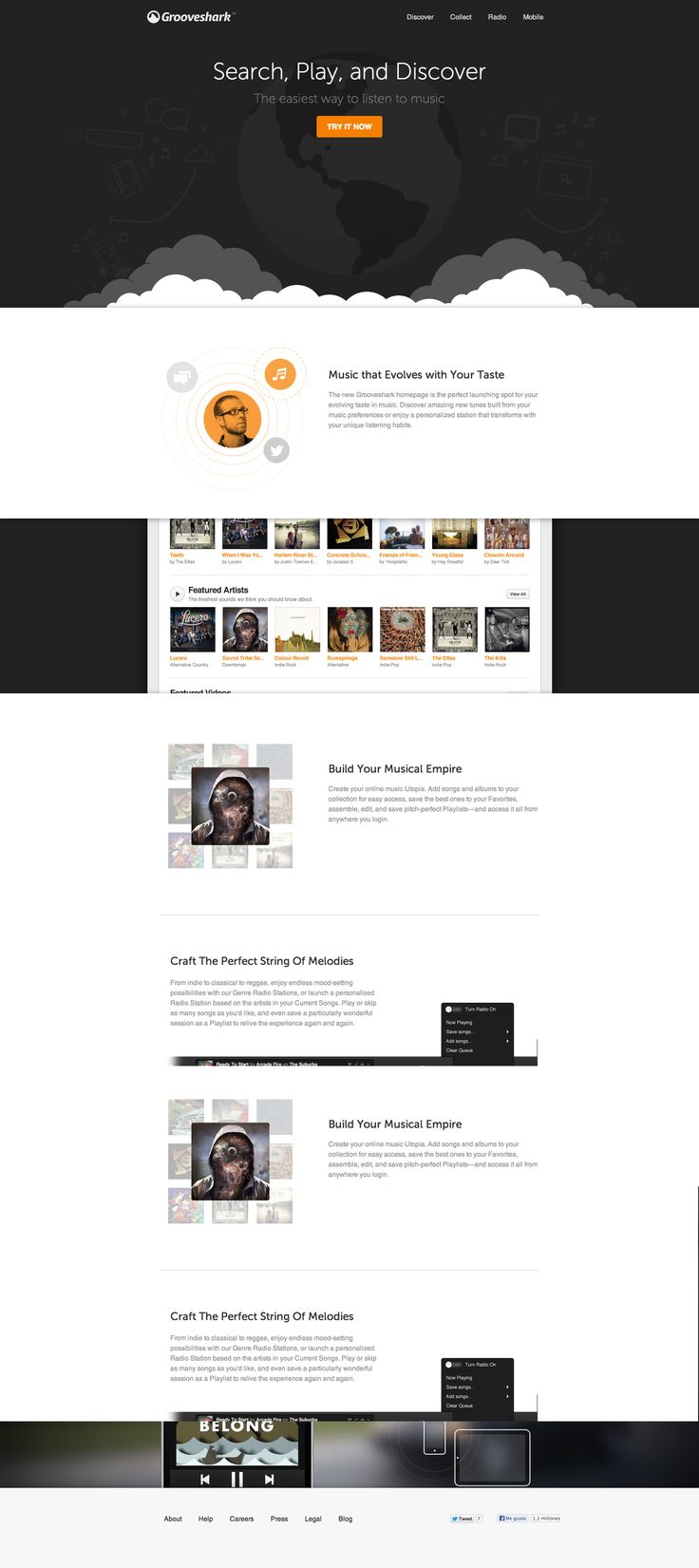 Grooveshark - Website