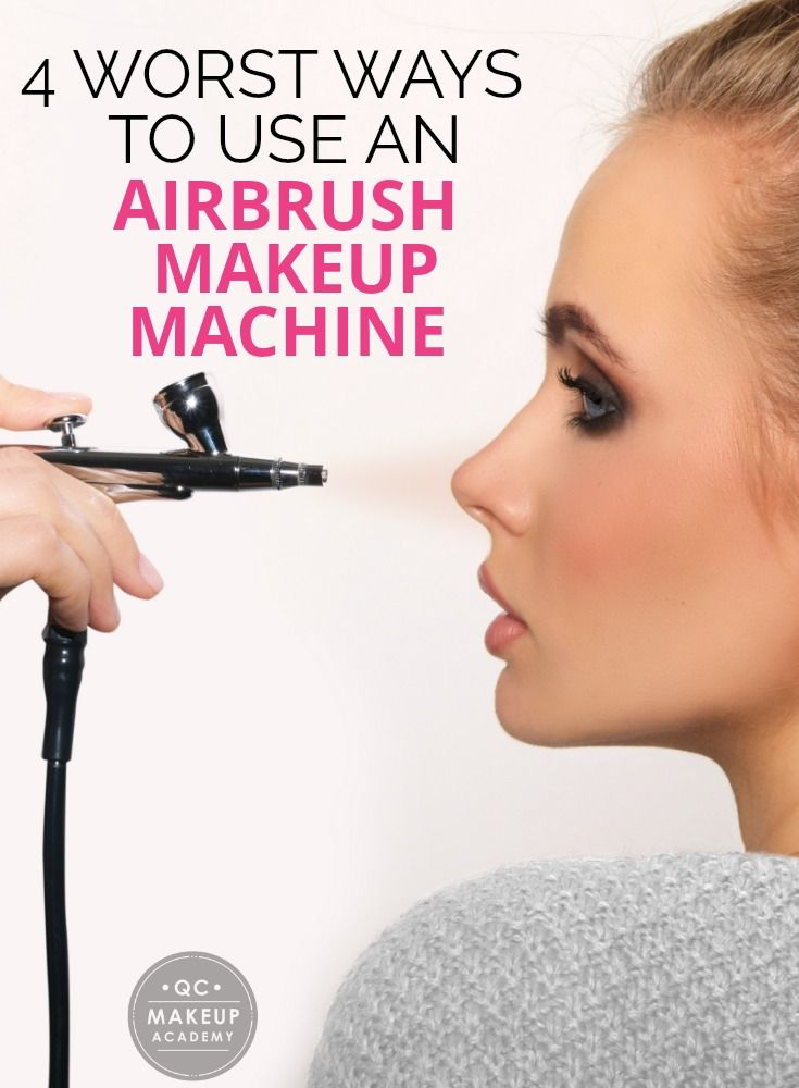Discover 4 of the WORST ways to use an airbrush makeup machine, including holding it too close to your face and not changing the pressure setting! #QCMakeupAcademy #makeup #makeupartist #learnmakeup #airbrushmakeup #airbrushmakeupmachine #airbrushmakeuptutorial #certifiedmua #onlinemakeupcourses #onlinemakeupschool #airbrushtips #makeuptips