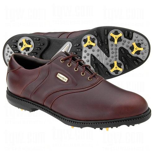 Footjoy Mens Icon Saddle Golf Shoe Closeouts
