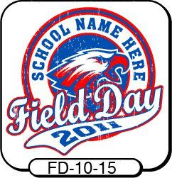 One Of Our Most Popular Field Day T Shirt Designs! Customize With Your Own