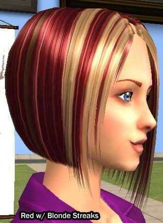 red hair with blonde highlights - Google Search