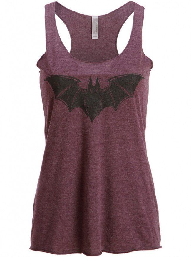 """Bat"" Loose Fit Tank by Pretty Attitude 