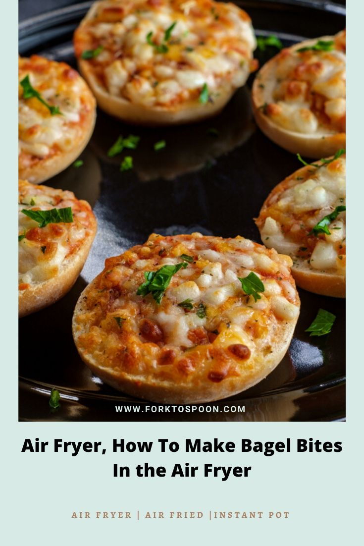 Air Fryer, How To Make Bagel Bites In the Air Fryer