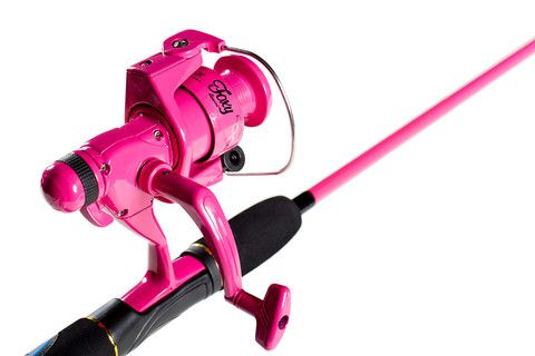 Foxy Rod and Reel Combo. Teens will go wild for this hot PINK Fishing Rod!