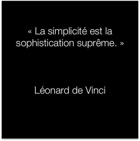 Citation Léonard de Vinci :: la simplicidad es la sophistication suprema.: