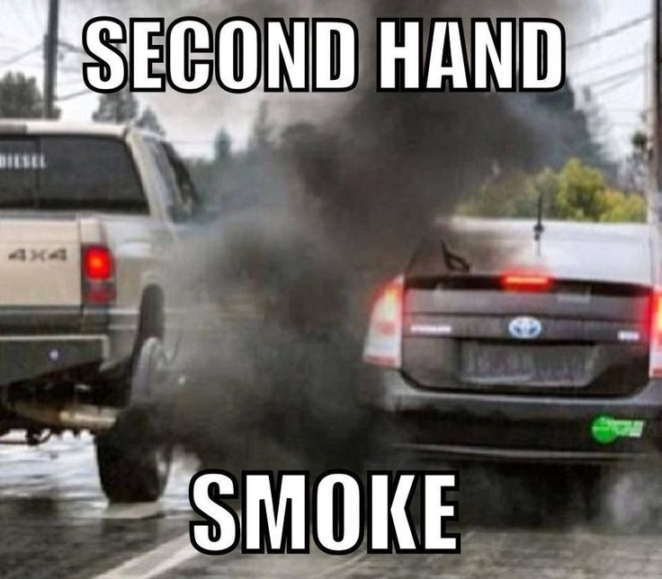 Second Hand Smoke Meme