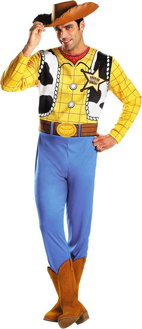Toy Story: Adult Woody Costume ($39.99) - Party City ONLINE | 4.5 stars