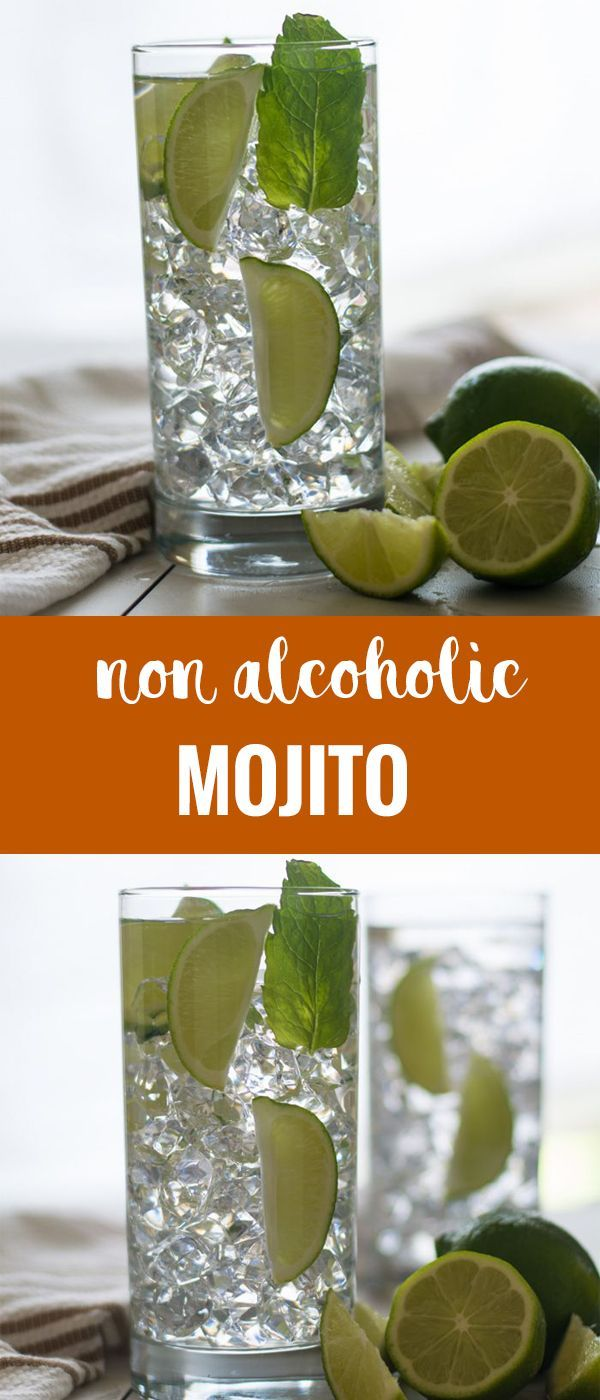 Non alcoholic Mojito recipe perfect for parties. Great drink to suit everyone fr…