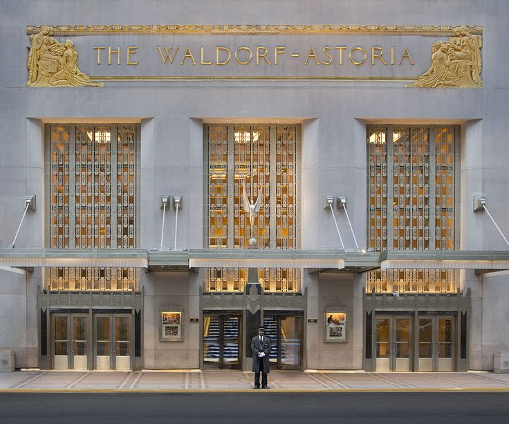 The Waldorf Astoria, New York - brilliant hotel lucky enough to have stayed in