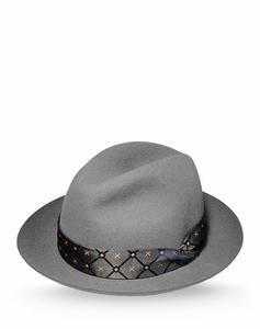 Borsalino cappelli e berretti uomo grigio a 170,00 euro