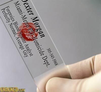 Business Cards of Famous Fictional Characters Slideshow | Cracked.com